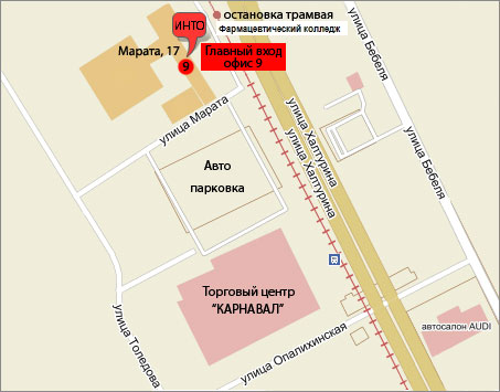 f856d7c03154 оптовый магазин орбо хладокомбинат гкоруп ... - Map.by
