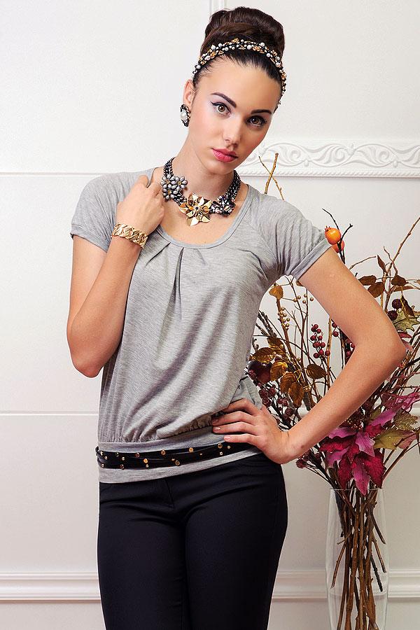 Модные блузки трикотажные доставка