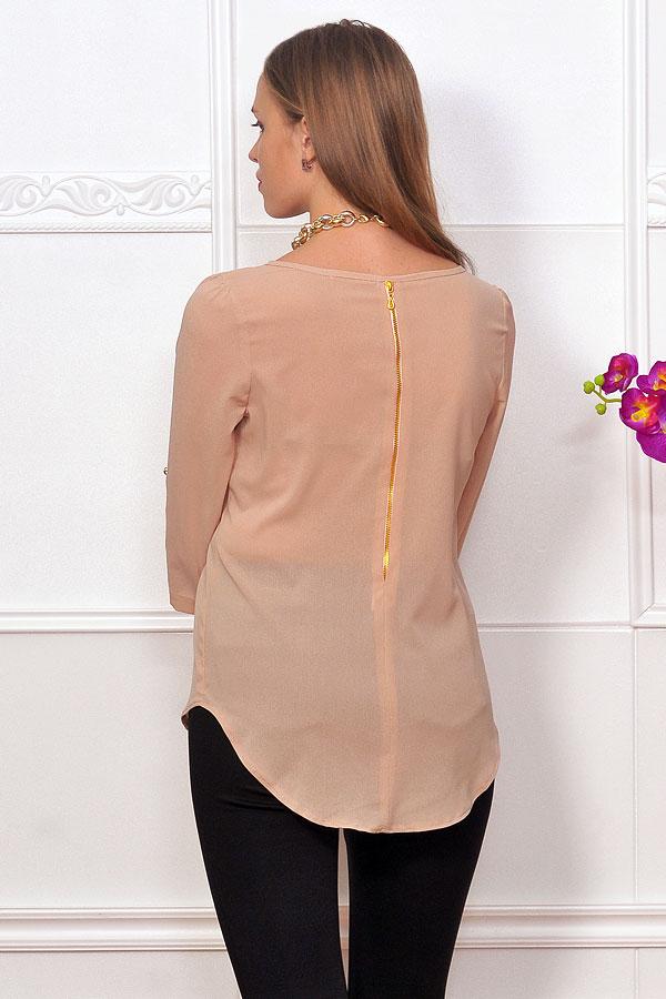 Купить Бежевую Блузку С Доставкой